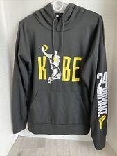 Kobe Bryant Light Weight  Hoodie  Sweatshirt  Signature Hood 24 Bryant Sleeve M