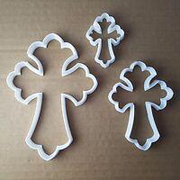 Cross Crucifix Celtic Shape Cookie Cutter Dough Biscuit Pastry Fondant Sharp