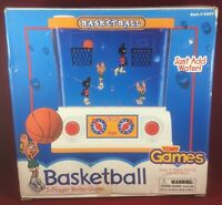 Vintage Tomy Games Basketball 2-Player Water Game (1999) #6997 W/ Box!!!