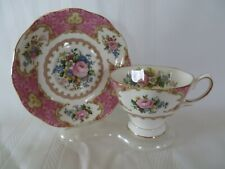 Royal Albert Lady Carlyle Cup Saucer Flora Series