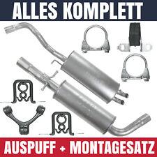 Auspuffanlage Schalldämpferset Auspuff VW Golf 4 IV 1.8 T 2.0 2.3 VR5 Schrägheck