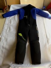 Deep See DivingSuit Tech Wear 5.5MM Moray Full Suit with Hood, SZ M