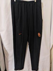 NWT Nike USC Trojans Mens Black Flex Ankle Zip Training Pants Sz XL AR9643 010
