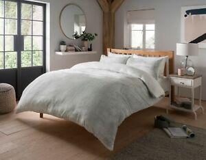 Teddy Bear shimmer Fleece Duvet Cover Set Pillow Case Sherpa Thermal  Bedding