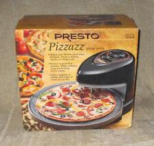 NOB Presto Pizzazz Revolving Pizza Oven Model #03430 in Black