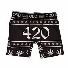 Odd 420 Leaf Ganga Rasta Plants Men's Size Small Boxer Briefs Nwt