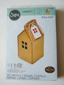 Sizzix Scoreboards L Die  House Ornament - 663636 - 3D Craft, Box, Gift, Favour