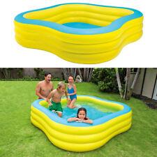 INTEX Swim Center 229x229x56cm Swimming Pool Planschbecken Kinderpool Gelb