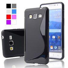 Silicone Gel SLine étui de téléPhone For Samsung Galaxy J1, J3, J5 Modèles + SP