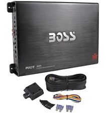 Boss R4004 1600 Watt 4-Channel Car Power Amplifier Amp + Remote Level Control