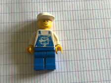 LEGO PERSONNAGE MINI FIGURINE OVR011 OVERALLS BLUE WITH POCKET 6350 10036