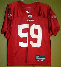 SAN FRANCISCO 49ERS Red JONATHAN WOODWIN  59 NFL Size XL PRACTICE JERSEY 6aac3c6c5