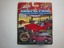 JOHNNY LIGHTNING MUSCLE CARS 1970 DODGE SUPER BEE PINK