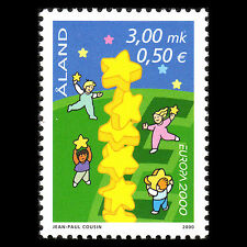 Aland 2000 - EUROPA Stamp Animation - Sc 166 MNH