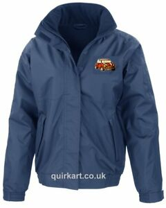 Classic Mini Cooper Car Embroidered Bomber Jacket Personalised Free P&P (25276