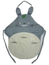 Anime My Neighbor Totoro Iconic Adult Kitchen Grey Cooking Apron w/ Ears Kawaii