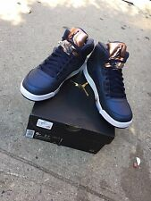 Nike Air Jordan 5 V Retro NEW 2016 SZ 6Y Bronze Obsidian Blue Olympic 136027 416