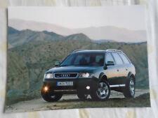 Audi allroad quattro 2.7T press photo Feb 2000
