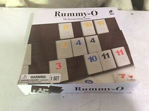 RUMMY-O GAME CARDINAL