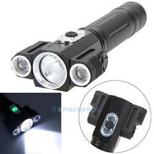 9000LM XM-L T6 3LED Headlamp 18650 Headlight Torch Flashlight 4 Modes Lamp 18650