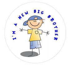 New Big Brother 50mm Pin Button Badge Ideal Gift For Older Siblings D1