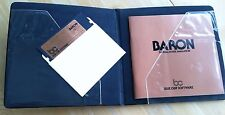 Baron v2.1 by Blue Chip Software Apple II+,IIe,IIc,IIgs 1985 Real Estate Market