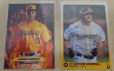 2018 Andrew Campbell Baseball Cards Brisbane Bandits Australian Baseball League