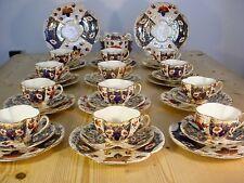 Antique Victorian 19th Century 40-Piece Imari Tea Set