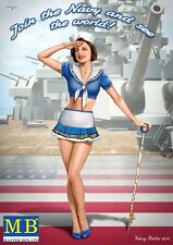 "1:24 Master box 24004 - ""Suzie"" Join the Navy and See the World  Model Kit"