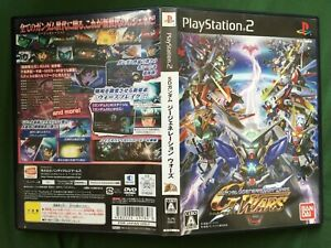 PS2 SD GUNDAM G GENERATION WARS NTSC-J BANDAI 2009 TESTED WORLD FREE POST