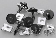 20x BMW Blechmutter /Schrauben Unterlegscheiben Unterfahrschutz Unterboden Clips