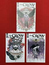 The Crow Lethe #1 #2 #3 Peach Momoko Cover A, IDW Comics (2020) 1st Prints