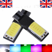 2 X ERROR FREE CANBUS 501 SMD LED SIDELIGHT WHITE BULBS XENON T10 W5W 194 CREE