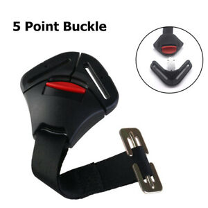 Universal Baby Car Seat 5pt 5 Point Safety Harness with Locking Buckle  Straps