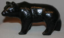 1977 HAND MADE GLAZED POTTERY BEAR FIGURINE