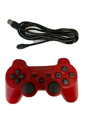 Sony OEM Dual Shock 3 Controller For PlayStation 3 PS3 ControllerRED