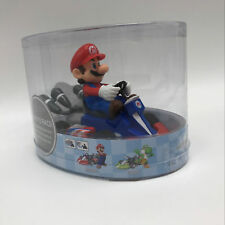"2018 Super Mario Kart Mario Pull Back Racer PVC Figure Collectible Car Toy 5"""