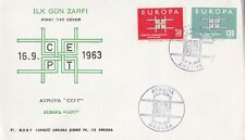 EU67) Turkey 1963 - Europa Stamps On First Day Cover