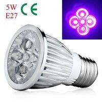5W E27 Basis UV Ultraviolett LED Scheinwerfer Birne Haus Lampe Birne AC 85-265V