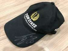 Tom Sykes Signed Autograph Kawasaki Ninja ZX10R 66 World Champion 2013 Cap