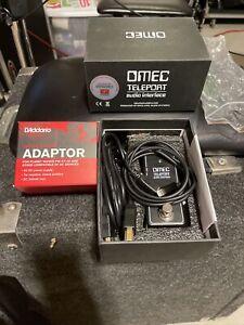 Orange OMEC Teleport Guitar Audio Interface BONUS  Lightning Adapter For iPad