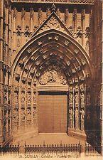 BR37206 Sevilla Catedral Puerta Pricipal spain