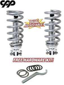 62-67 Chevy II Nova Coilover Conversion Kit Double Adjustable Coil Over 350LBS