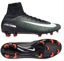 Nike Mercurial Veloce III FG Soccer Cleats (Black/White/Electric Green) Size 8