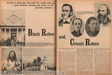 Circuit Riders and Black Robes History in the Old West