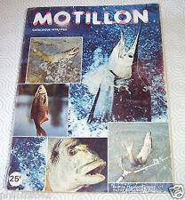 PECHE HALIEUTIQUE / CATALOGUE MOTILLON 1979