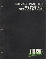 1985 Arctic Cat Snowmobile Jag, Panther, Pantera Service Manual P/N 2254-310