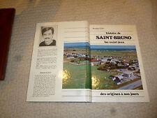 Histoire de St Bruno Lac Saint Jean : Canada Quebec des Origines à nos Jours