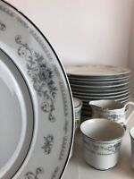 47 Piece Set Wade Fine China Of Japan Diane Porcelain China