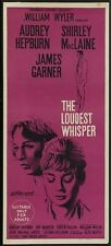 THE LOUDEST WHISPER MOVIE POSTER Shirley MacLaine RARE